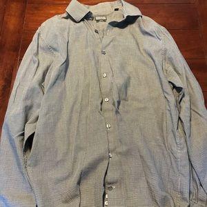 Slim fit dress shirt size 16
